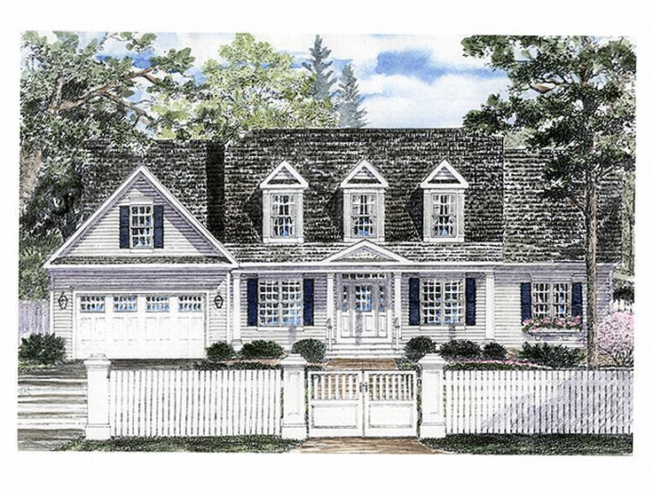 Country Home Design, 014H-0027