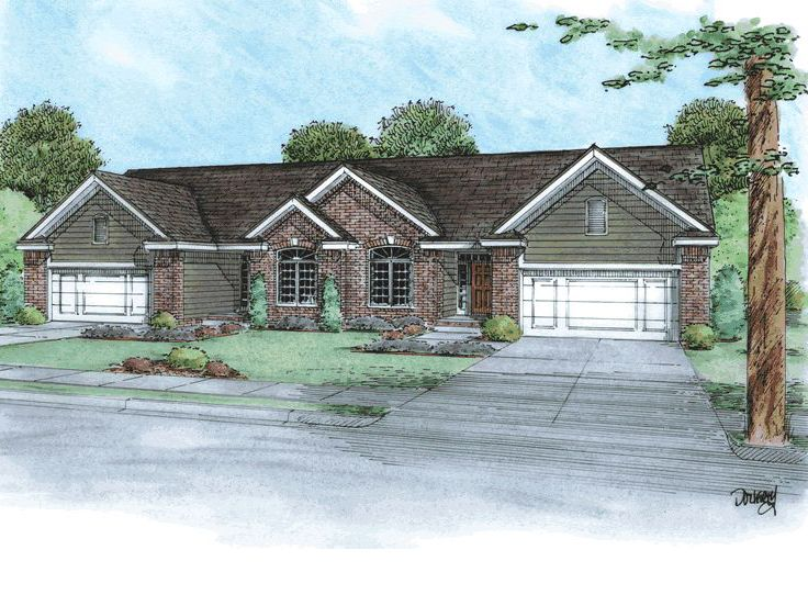 Multi-Family Home Plan, 031M-0074