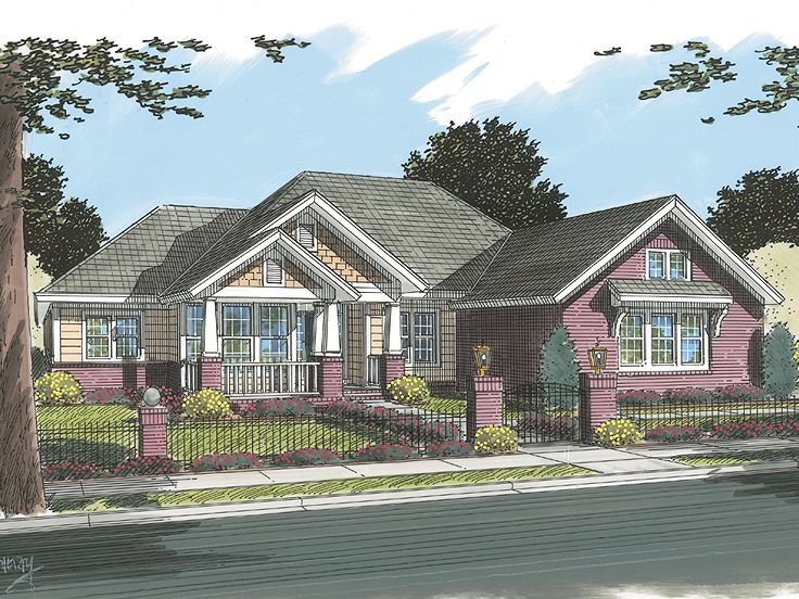 Family Home Plan, 059H-0104
