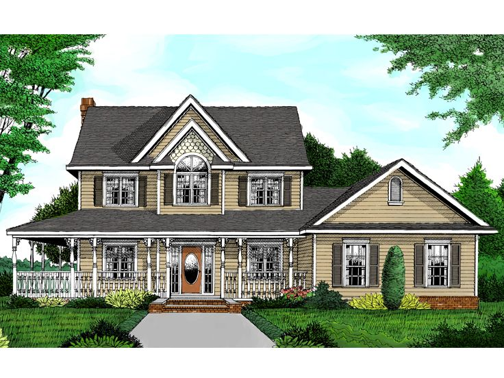 Country Home Plan, 044H-0012