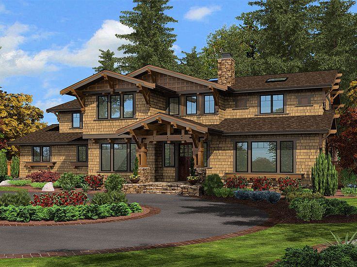 Two-Story Home Plan, 035H-0082