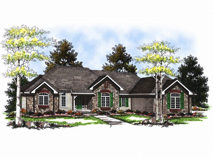 1-Story Home Plan, 020H-0021