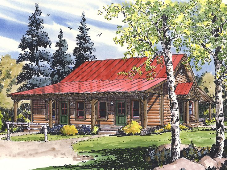 Log Duplex Plan, 066M-0001