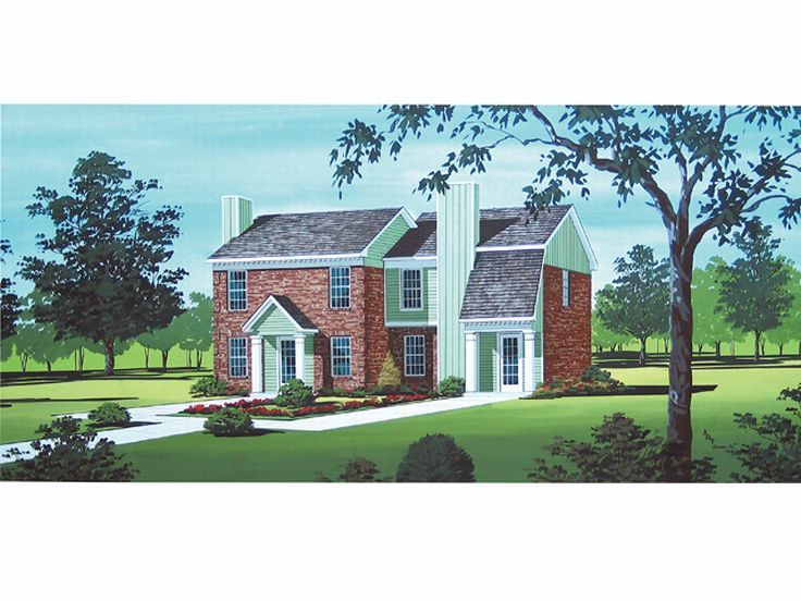 Multi-Family Home Plan, 021M-0004