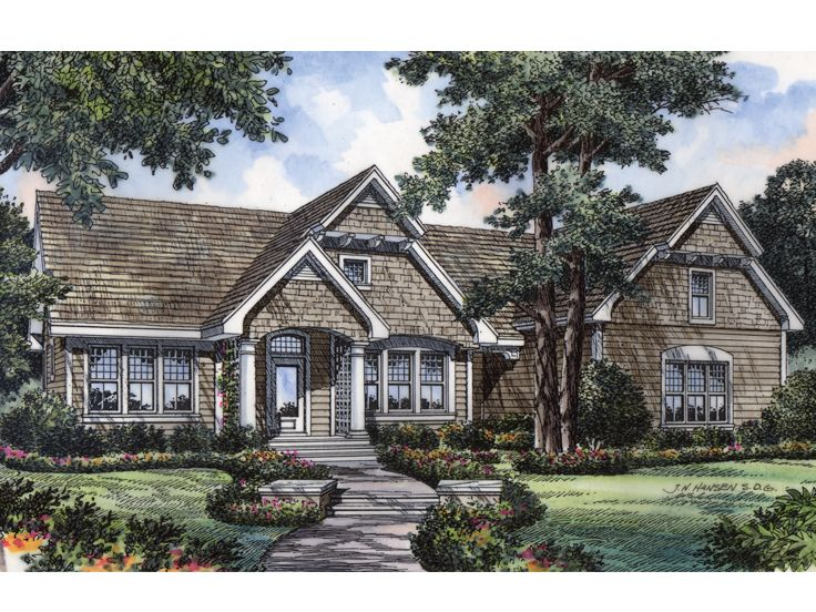 Ranch House Plan, 043H-0074