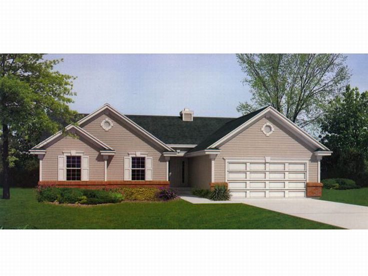 Traditional Home Plan, 026H-0019