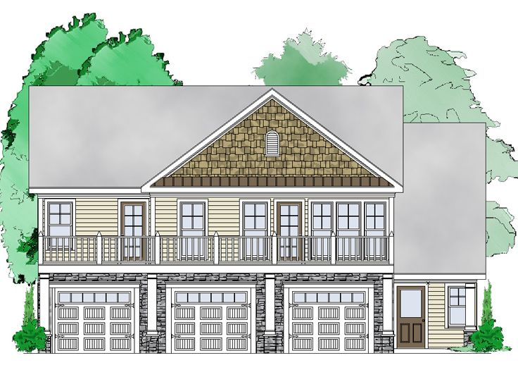Carriage House Plans Garage Apartment Plan Design 053g