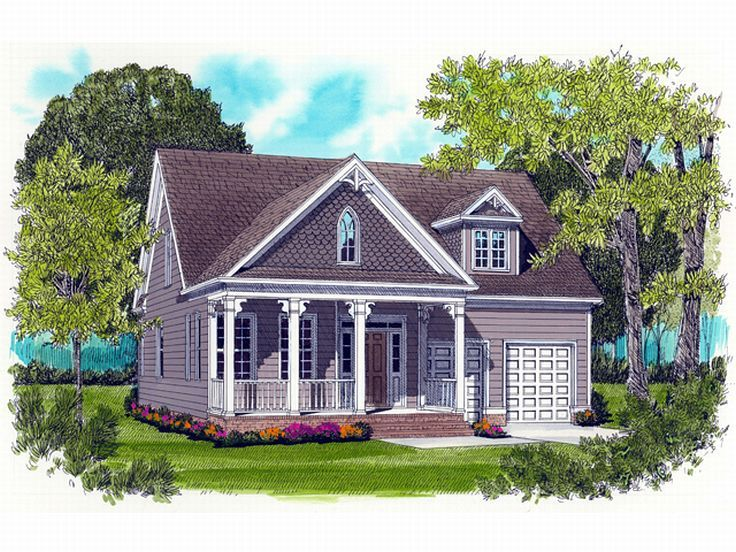Victorian House Plan, 029H-0013