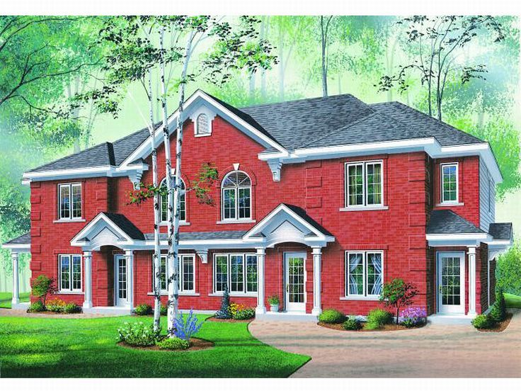 Multi-Family Home Plan, 027M-0016