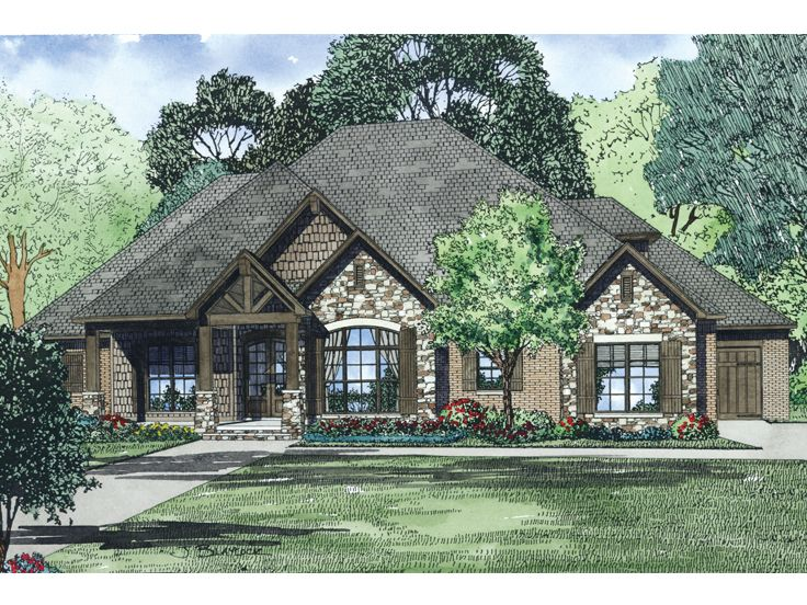 Family House Plan, 025H-0289