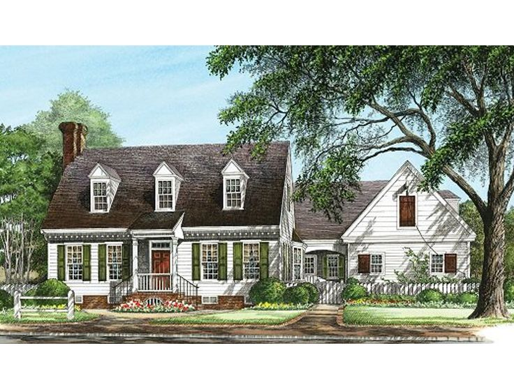 Plan 063h 0202 find unique house plans home plans and for Large cape cod house plans
