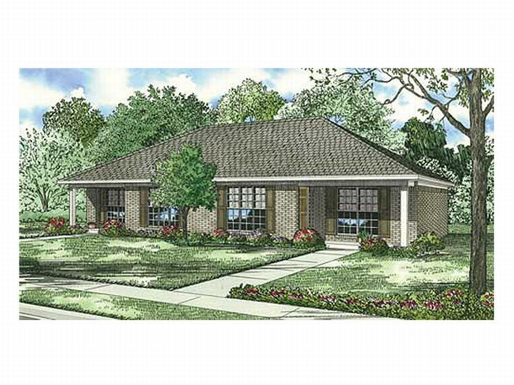 Multi-Family House Plan, 025M-0043