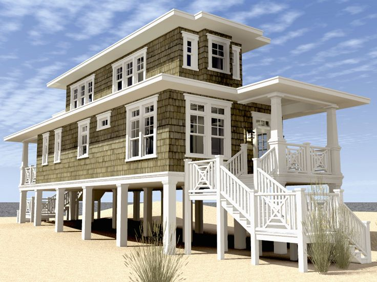 Beach House Floor Plans On Stilts Wood Floors