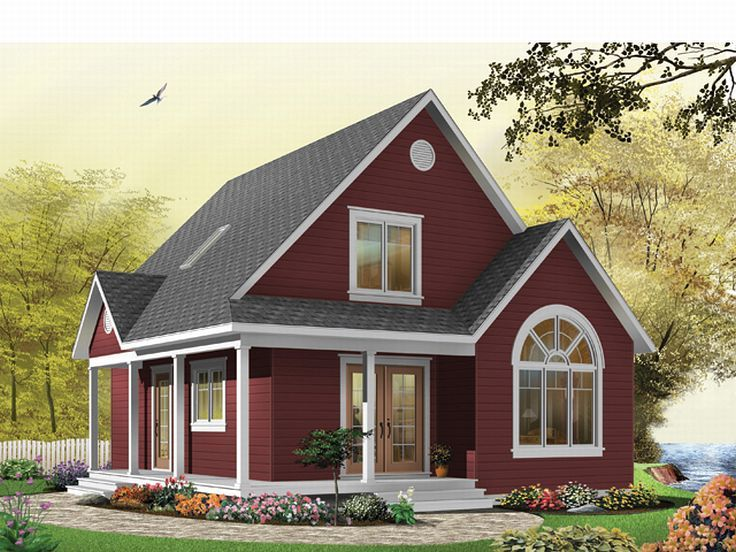 Vacation House Plan, 027H-0085