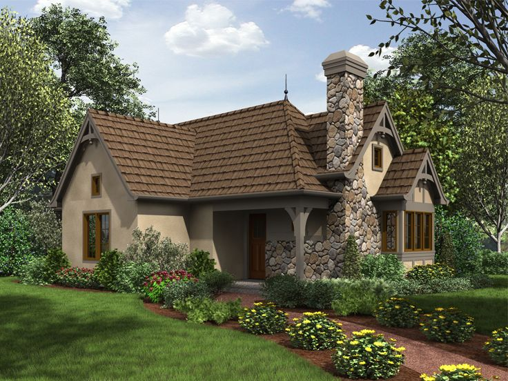 Cottage House Plan, 034H-0268