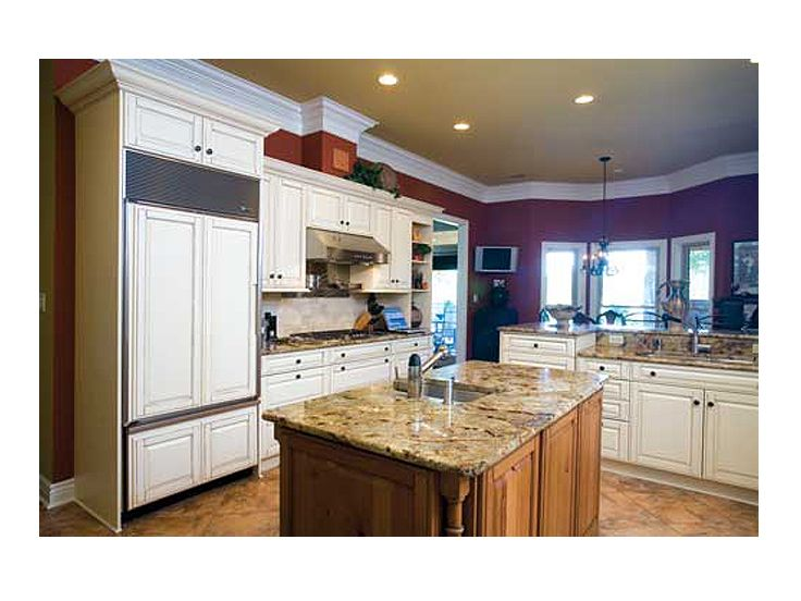Kitchen Island Photo, 025H-0168