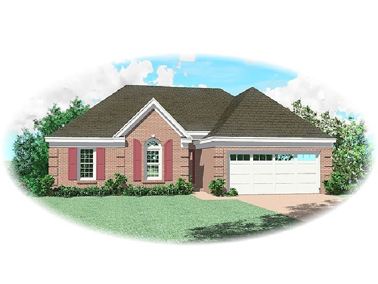 Traditional Home Plan, 006H-0039