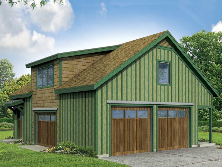 Garage apartment plans two car garage apartment plan for Large garage apartment plans