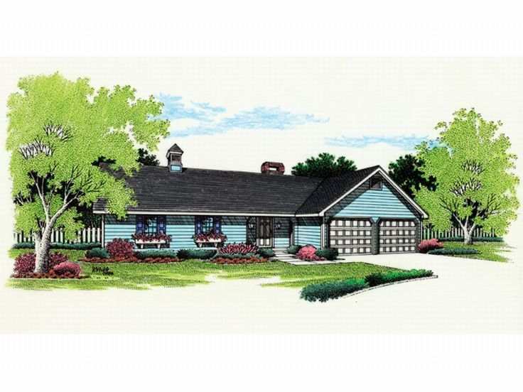 Small House Plan, 021H-0032