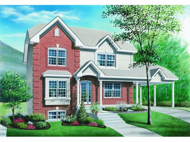 Triplex Home Plan, 027M-0013