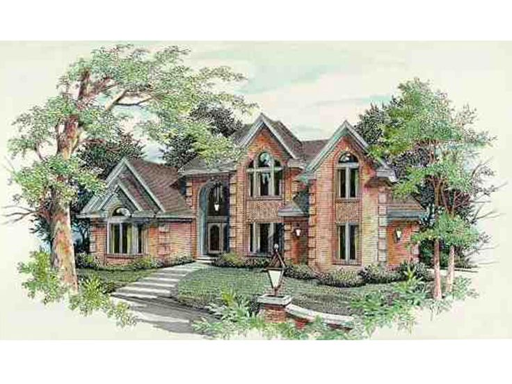Luxury House Plan, 061H-0113