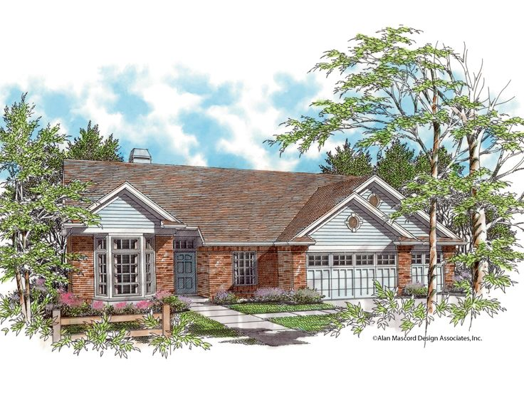 Traditional Home Plan, 034H-0061