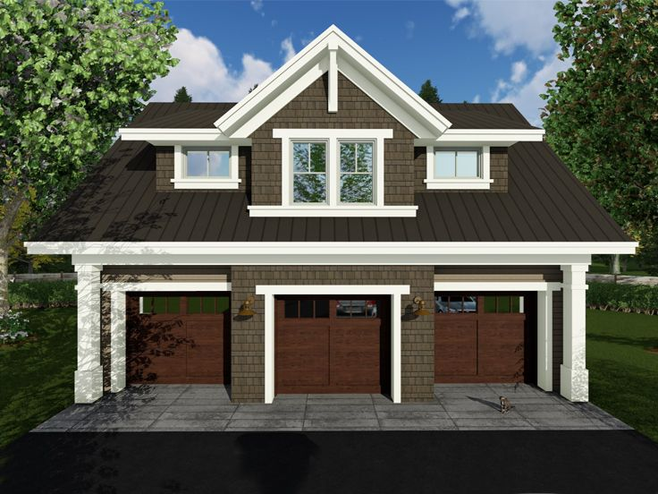 Carriage house plans craftsman style carriage house plan for Unique carriage house plans
