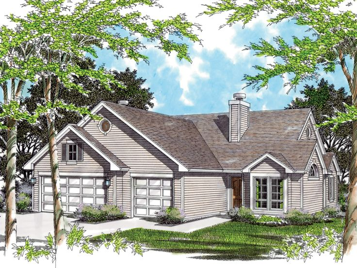 Plan 034m 0017 find unique house plans home plans and Unique duplex plans