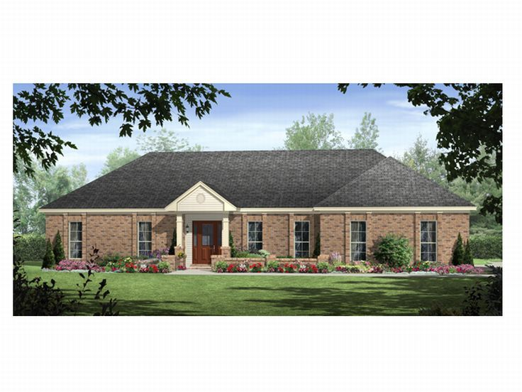 Affordable Home Plan, 001H-0119