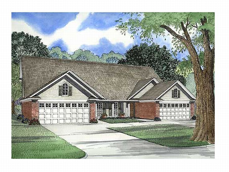 Multi-Family House Plan, 025M-0002