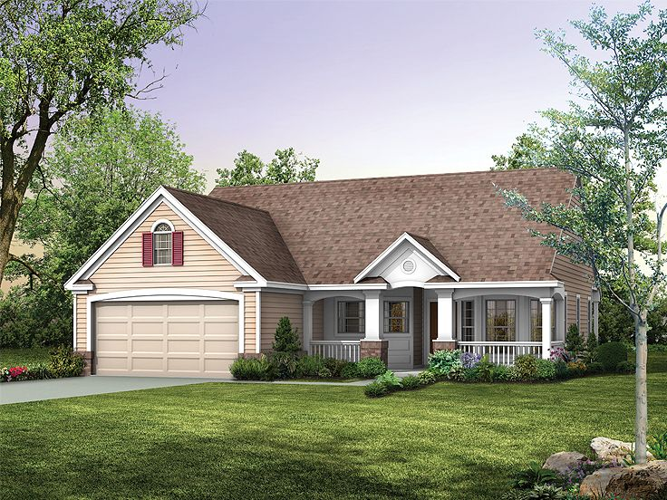 Small House Plan, 057H-0030