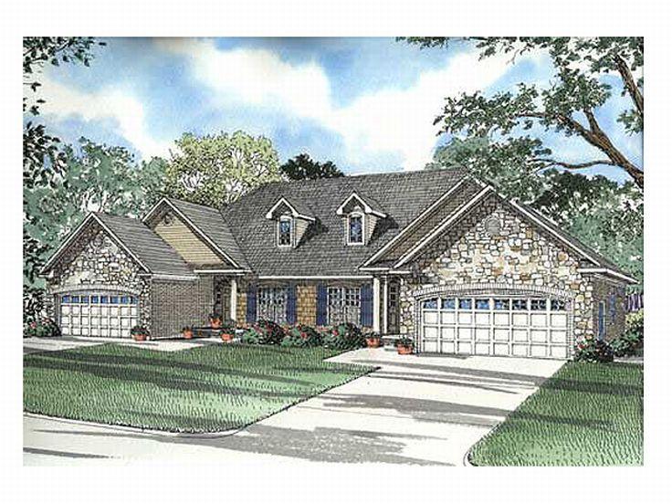 Plan 025m 0031 find unique house plans home plans and for Cool house plans duplex