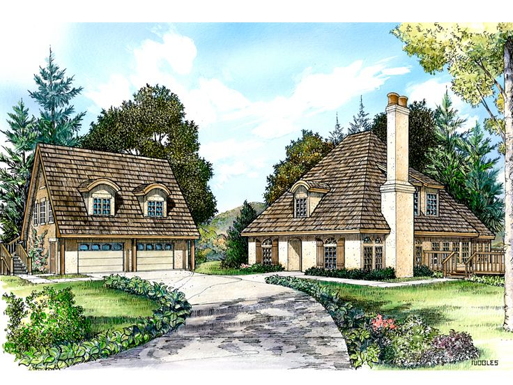 Unique Home Plan, 008H-0028
