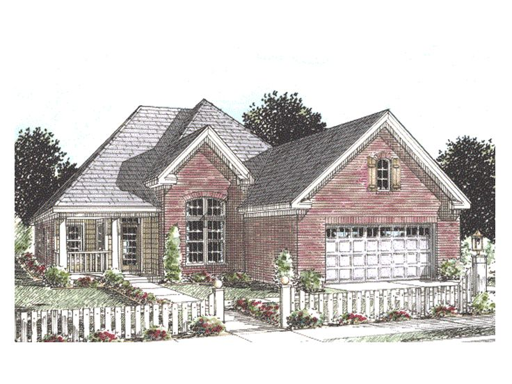Affordable Home Plan, 059H-0072