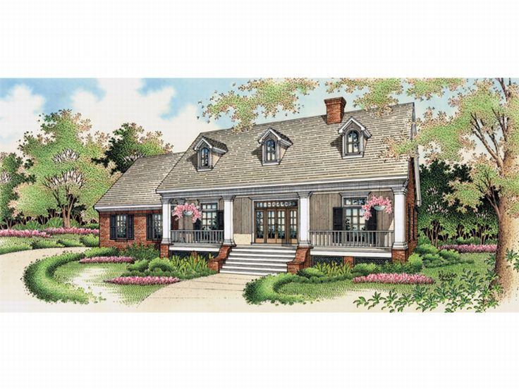 Country European Home, 021H-0102
