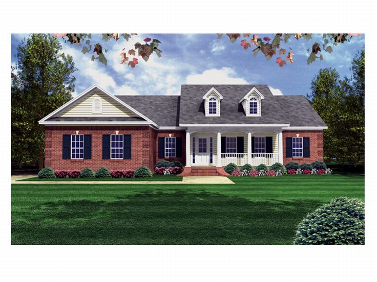 Affordable House Plan, 001H-0021