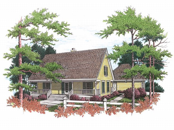 Country Home Design, 021H-0049