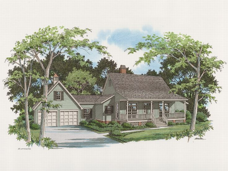 Country House Design, 030H-0025