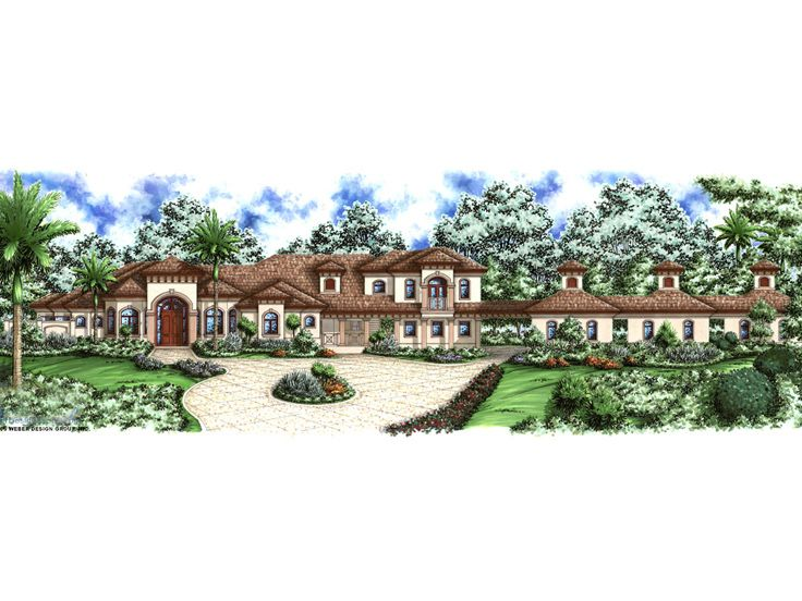 Luxury Home Design, 037H-0023