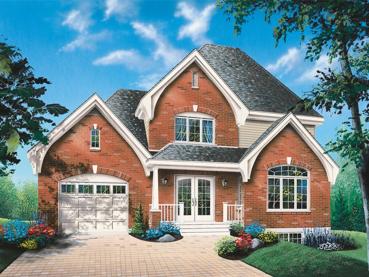 Traditional Home Plan, 027H-0193
