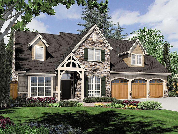 Two-Story House Plan, 034H-0167