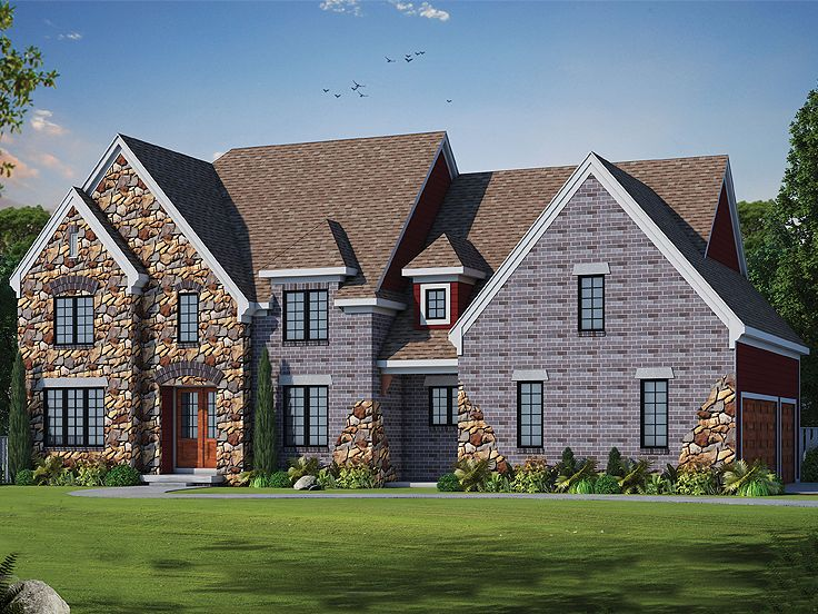 Two-Story House Plan, 031H-0262