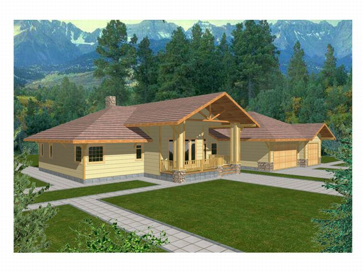 1-Story House Plan, 012H-0031