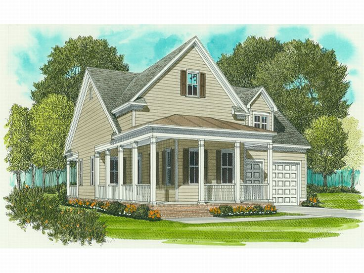 Country House Design, 029H-0007