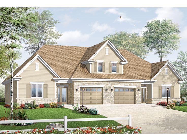 Plan 027m 0035 find unique house plans home plans and for Unique duplex plans