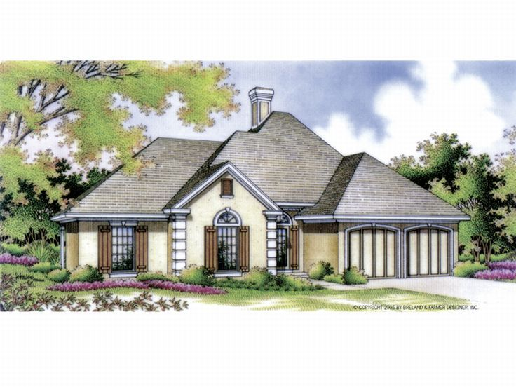 Sunblet House Design, 021H-0069