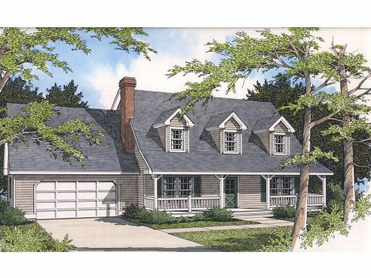 Country House Plan, 026H-0090