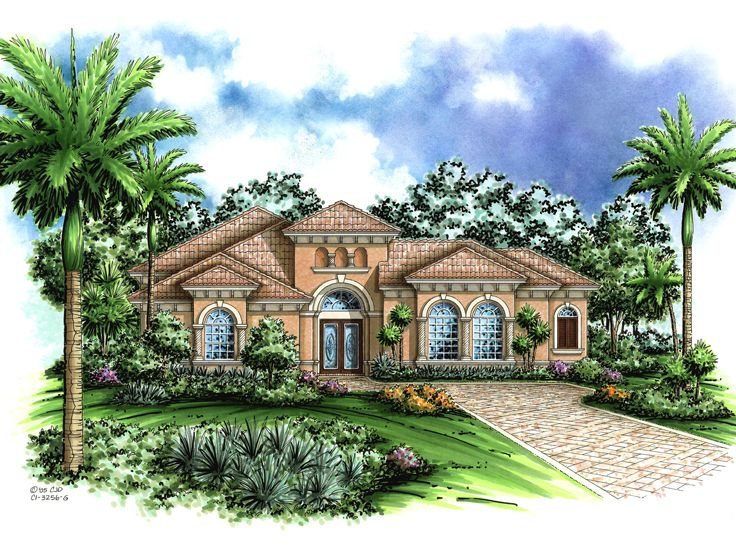 Sunbelt House Plan, 040H-0002
