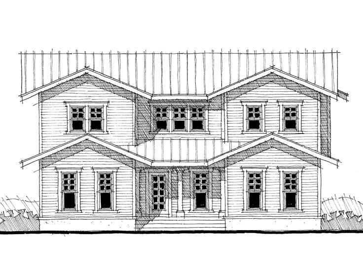 Two-Story Home Plan, 052H-0067