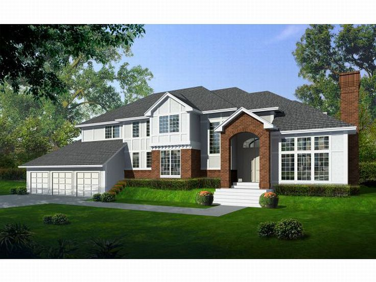 2-Story Luxury Home, 026H-0049